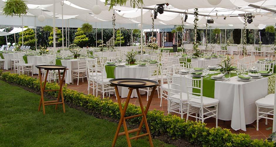 Salas lounge elite como organizar mi evento for Jardines para eventos