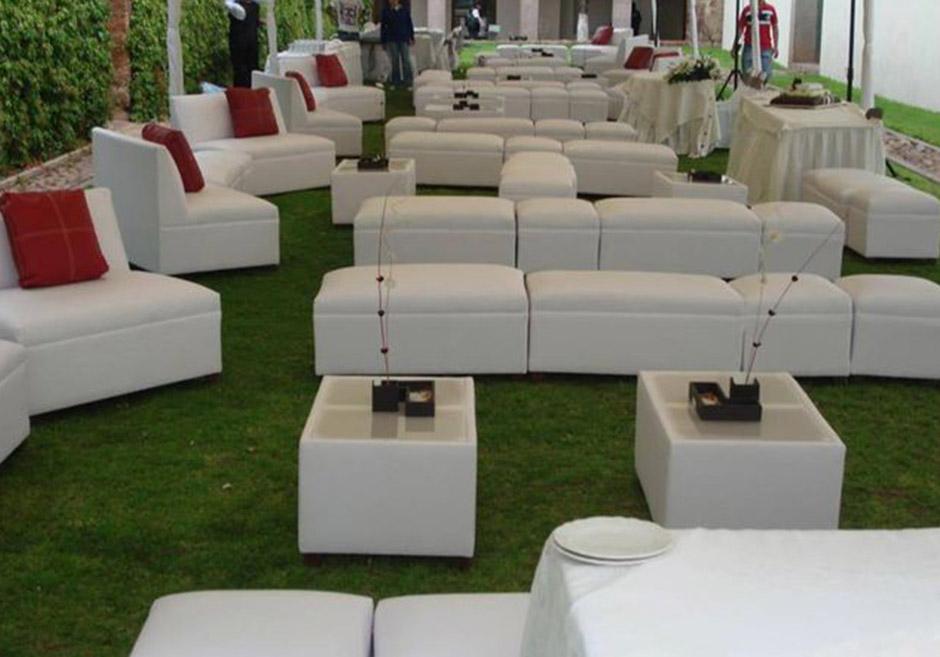 Salas lounge elite renta sala para 10 personas for Casa y jardin muebles